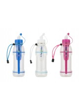600ml EXTREME Filter Bottle - Removes Radiological Contaminants (Choice of Blue, White or Pink)