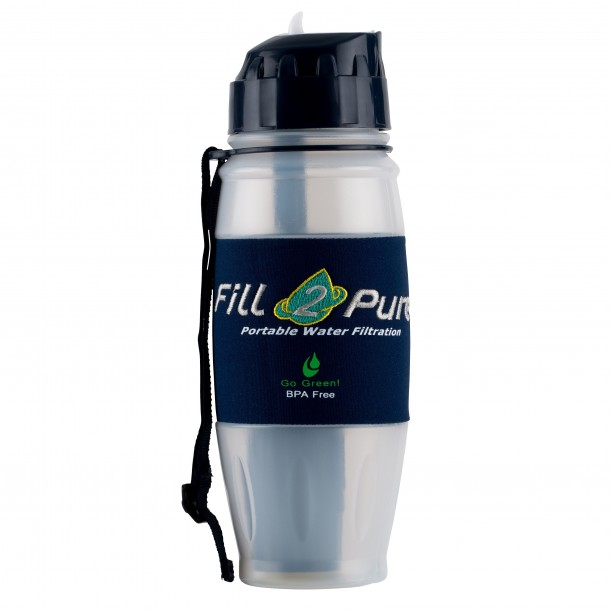 800ml Travel Safe/ Outdoor ADVANCED Filter Bottle: Great for your Survival Kit!