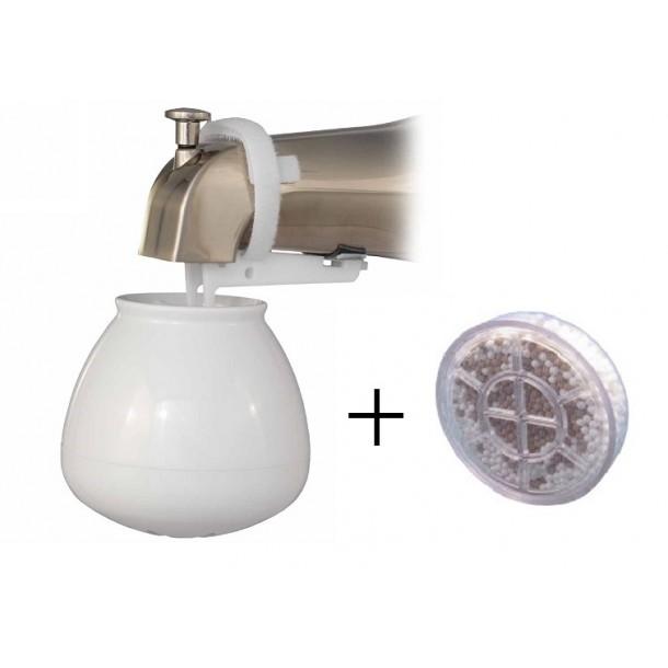 SPRITE Bath Ball Tap Water Filter - Bundle + 1 x Extra Filter (Save 5%)